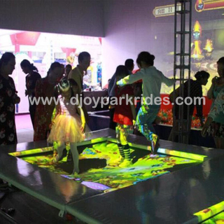 DJIP02 Fun indoor interactive trampoline projection