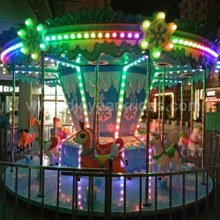 DJCR14 Carousel rides with light