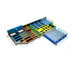 DJ-TP16 Indoor Trampoline Park For Sale