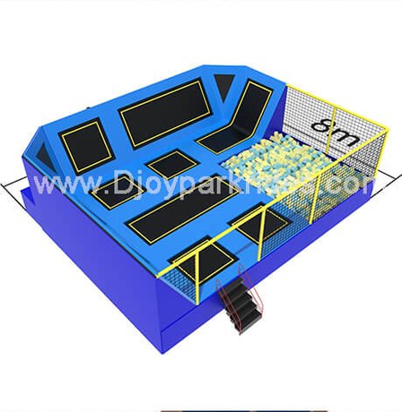 DJ-TP04 Hot Sale Trampoline Park