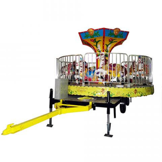 DJMRT05 12 Seats Carousel with Trailer