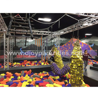 DJNC17 Manufacturer Indoor Ninja Warrior Course
